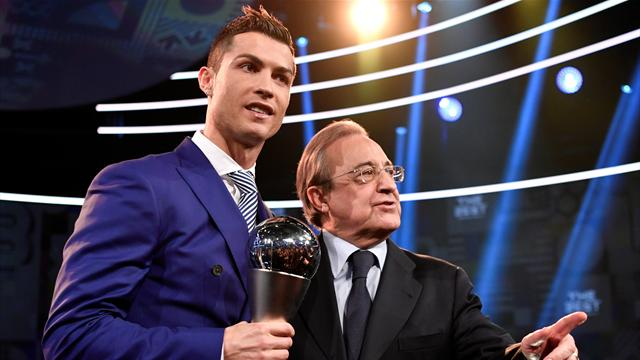 'Cristiano is angry, but I think he will stay' - Perez