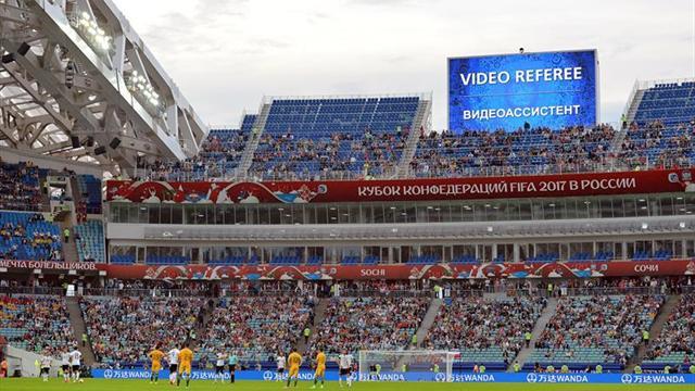 El VAR, la auténtica estrella de la Copa Confederaciones