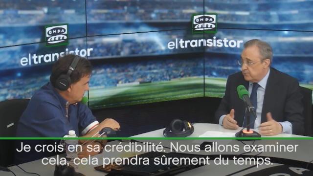 """Perez : """"Ronaldo mérite la présomption d'innocence"""""""