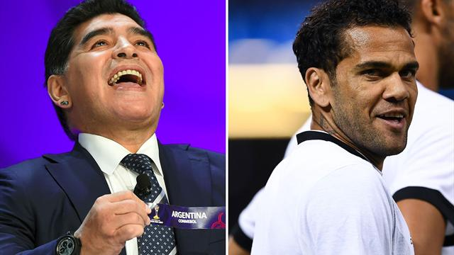 Diego Maradona: Dani Alves is an 'idiot'