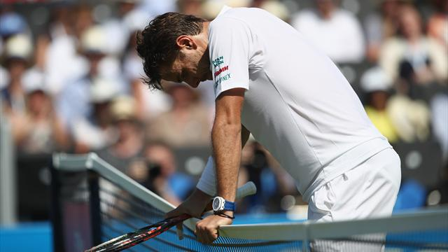 Wimbledon: Wawrinka eliminato al primo turno!