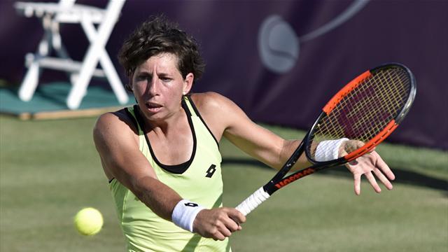 WTA Santa Ponsa, Carla Suárez-Catherine Bellis: Adiós en primera ronda 3-6 y 5-7