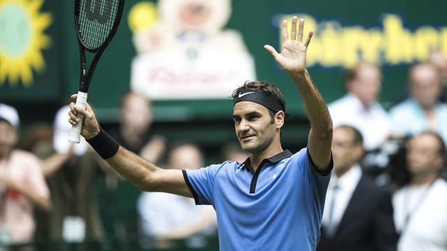 Imperious Federer destroys Sugita in 52 minutes