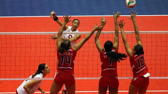 Dominicana lidera la Copa Panamericana tras vencer a Cuba por 3-0