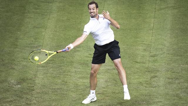 Gasquet élimine Monfils au 1er tour à Halle — Tennis