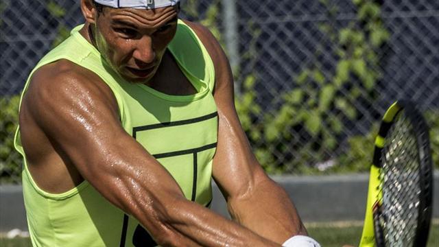 Rafael Nadal entrenó junto a Christian Garín previo a Wimbledon