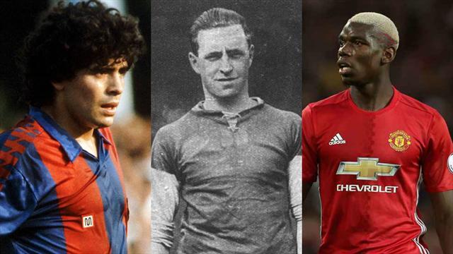 Maradona, Puddefoot, Pogba : Les 20 transferts record qui ont marqué leur époque