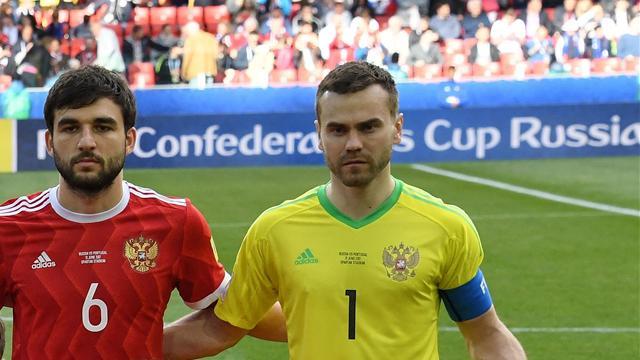Акинфеев провел 100-й матч засборную Российской Федерации