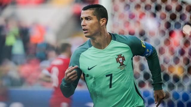 Copa Confederaciones 2017, Rusia-Portugal: Cristiano, líder y goleador (0-1)