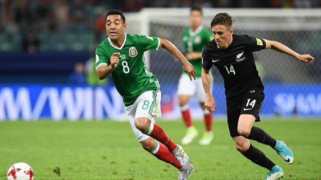 Il Messico ribalta (ed elimina) 2-1 la Nuova Zelanda di Wood. Altro disastro del Var