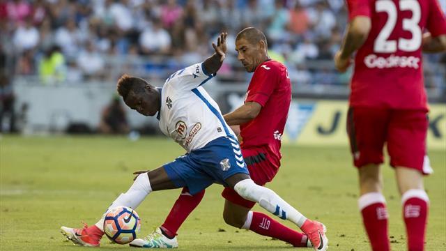 El Tenerife logra imponerse al Getafe por la mínima y se acerca a Primera (1-0)