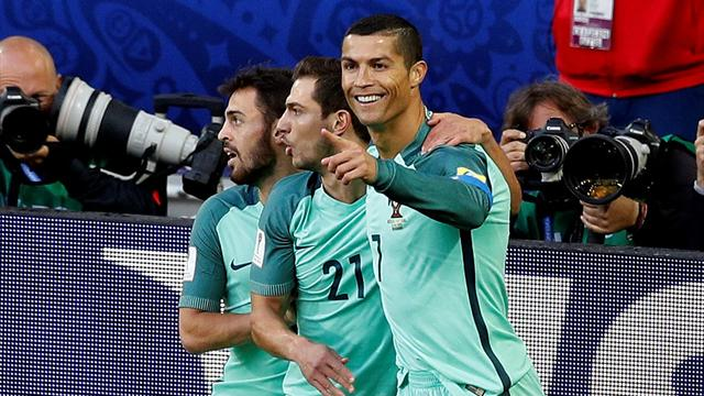 Ronaldo fires Portugal to win over Russia