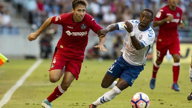 Getafe gana a Tenerife y regresa a primera división española