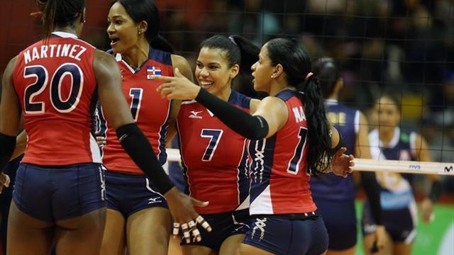 Dominicana y Estados Unidos disputarán las semifinales de la Copa Panamericana de voleibol