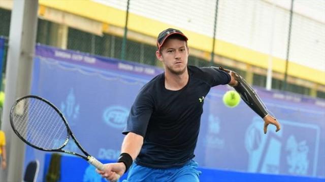 Новозеландец спротезом руки набрал первое очко врейтинге теннисистов-профессионалов