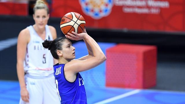 Italbasket femminile travolgente! Macedonia umiliata 92-33 e l'Europeo ora è più vicino