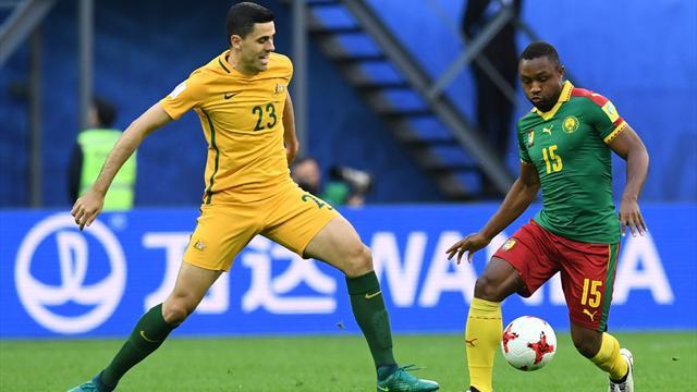 Copa Confederaciones 2017, Camerún-Australia: Empate que sabe a derrota (1-1)