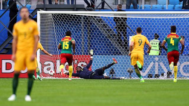 Un botta e risposta che scontenta tutti: tra Camerun e Australia è 1-1