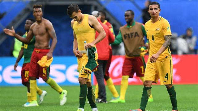 Cameroon and Australia both on the brink after result that neither wanted