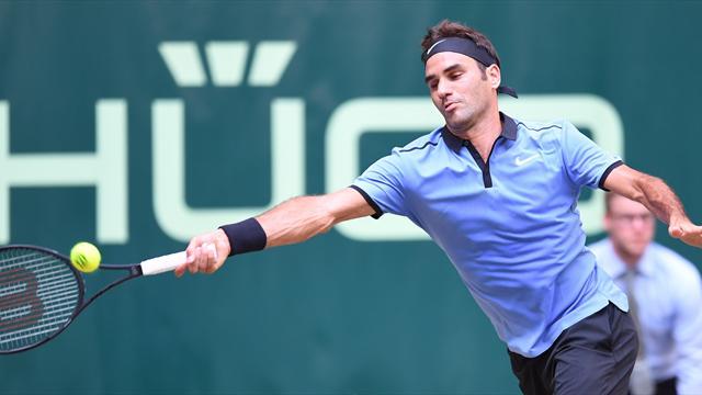 ATP Halle, Roger Federer-Florian Mayer: El día de la marmota (16:45)