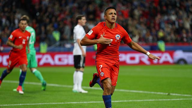 Sanchez nets record as Chile draw with Germany