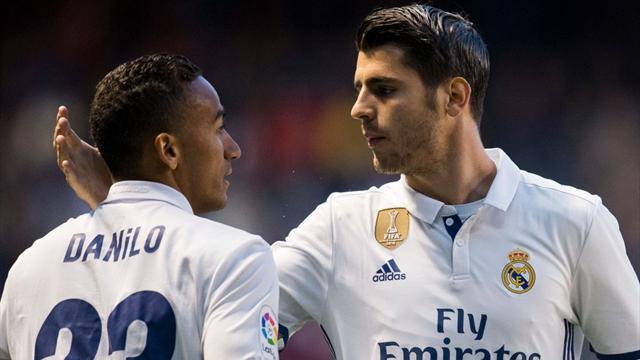 Danilo con Alex Sandro: