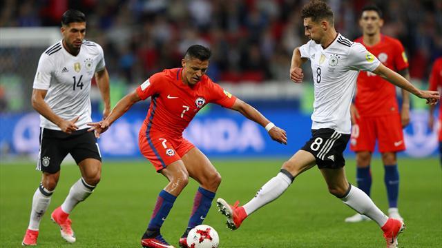 Copa Confederaciones 2017, Alemania-Chile: Mito Alexis y todos contentos (1-1)