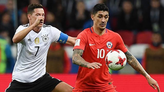 Le Chili tient tête à l'Allemagne