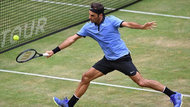ATP Halle, Roger Federer-Karen Khachanov: El rey comienza a reclamar lo que es suyo (13:05)