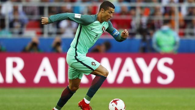 Des Kiwis au menu de Ronaldo