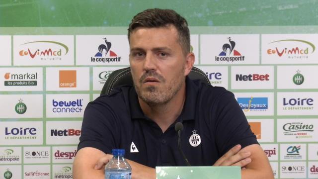 García arrive à Saint-Etienne : »Ma femme préfère Marseille… mais ce n'était pas sa décision»