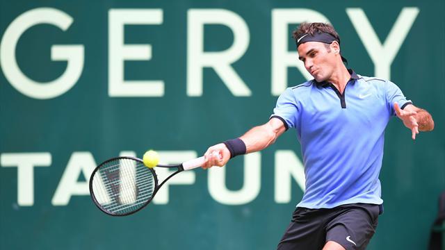Sorti des griffes de Khachanov, Federer jouera bien pour un 9e titre
