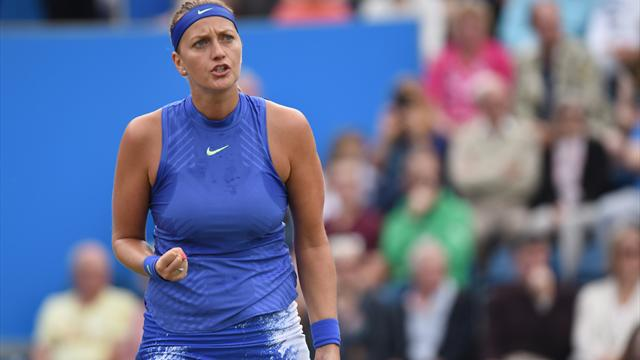 Kvitova comeback continues as she reaches Birmingham final
