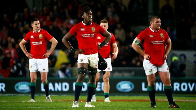 Lions suffer chastening defeat to New Zealand in first Test