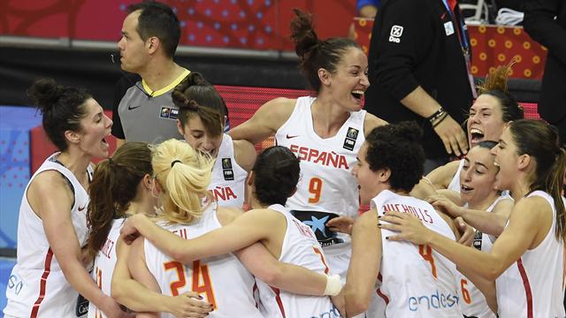 Eurobasket femenino: España jugará la final tras superar con claridad a Bélgica (68-52)