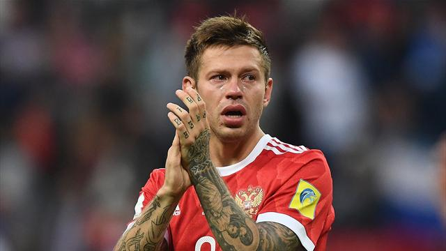 СМИ проинформировали , что форвард сборной Российской Федерации  Смолов вошёл всферу интересов «Реала»