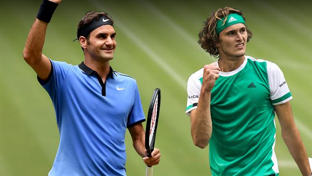 Sigue en directo la gran final del torneo de Halle donde Federer busca su noveno título ante Zverev