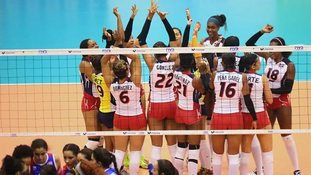 República Dominicana y EE.UU. jugarán la final de la Copa Panamericana de Voleibol