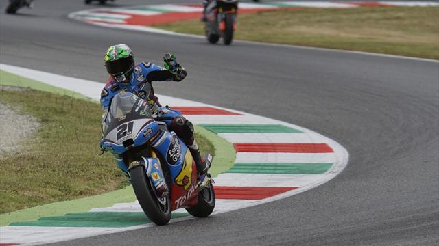 Capolavoro Morbidelli, quinta pole stagionale in Moto2 sotto la pioggia