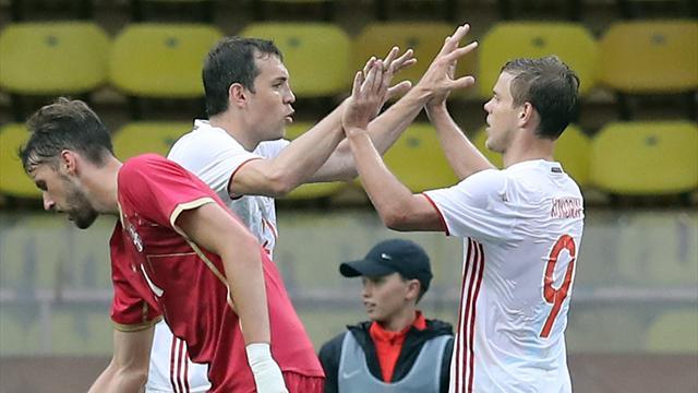 НаКубке конфедераций сборная Российской Федерации  билась исражалась доконца— Александр Кокорин