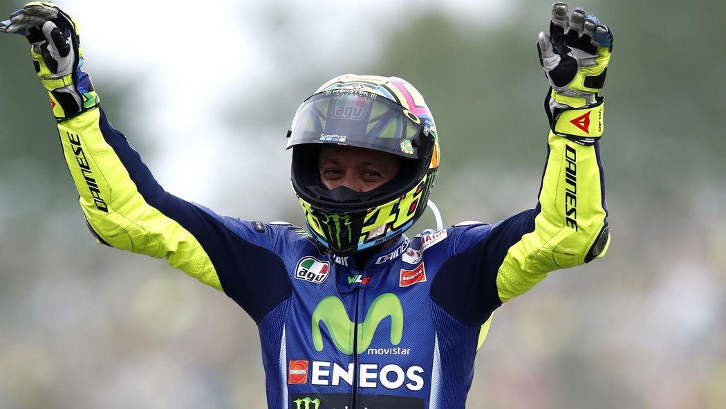1795e8e86b74f Valentino Rossi records 10th win at Assen with first victory of the season