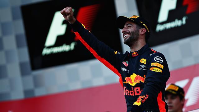 Azerbaycan'da kazanan Ricciardo