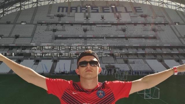 Le rappeur Vald tourne un clip au stade Vélodrome… avec le maillot du PSG