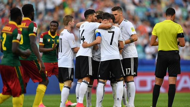 """L'Allemagne """"bis"""" a tenu son rang, le Chili s'est fait peur"""