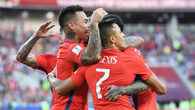 Cile col minimo sforzo: 1-1 contro l'Australia e semifinale col Portogallo