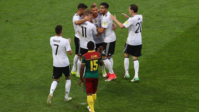 Germania sul velluto: 3-1 al Camerun e semifinale da prima nel girone