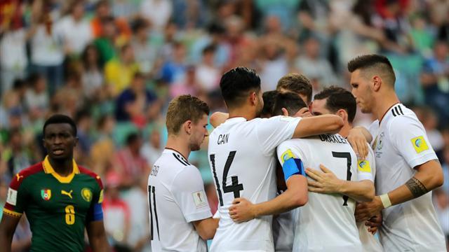 Copa Confederaciones 2017, Alemania-Camerún: A semifinales con fallo de Ter Stegen (3-1)