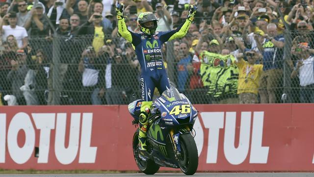 Rossi still a MotoGP winner at 38