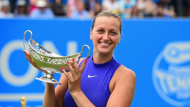 Petra Kvitova se hace con el título antes de Wimbledom