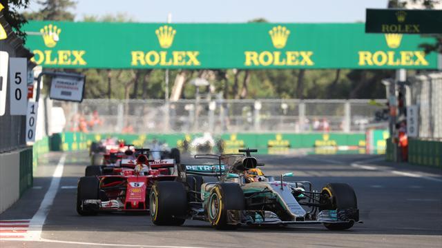 F1, Baku: Bottas precede Raikkonen, problemi per Vettel